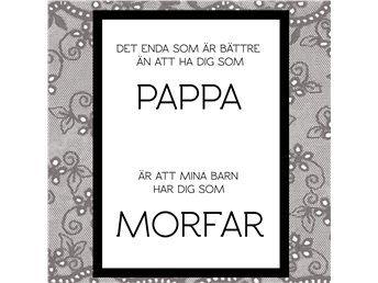 Morfar - Print till Fars Dag (enbart digitalt format)