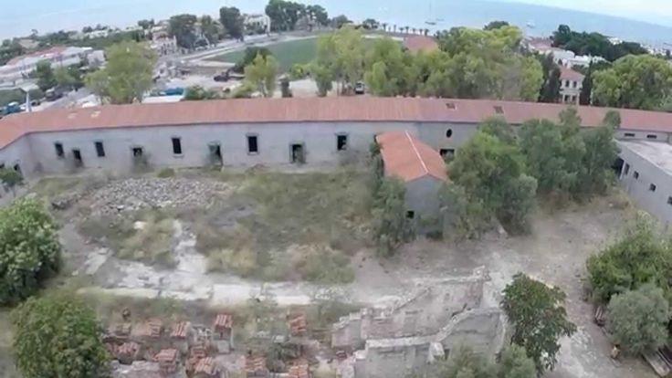 Αίγινα: Ορφανοτροφείο(Φυλακές) Καποδίστρια + Aerial Footage