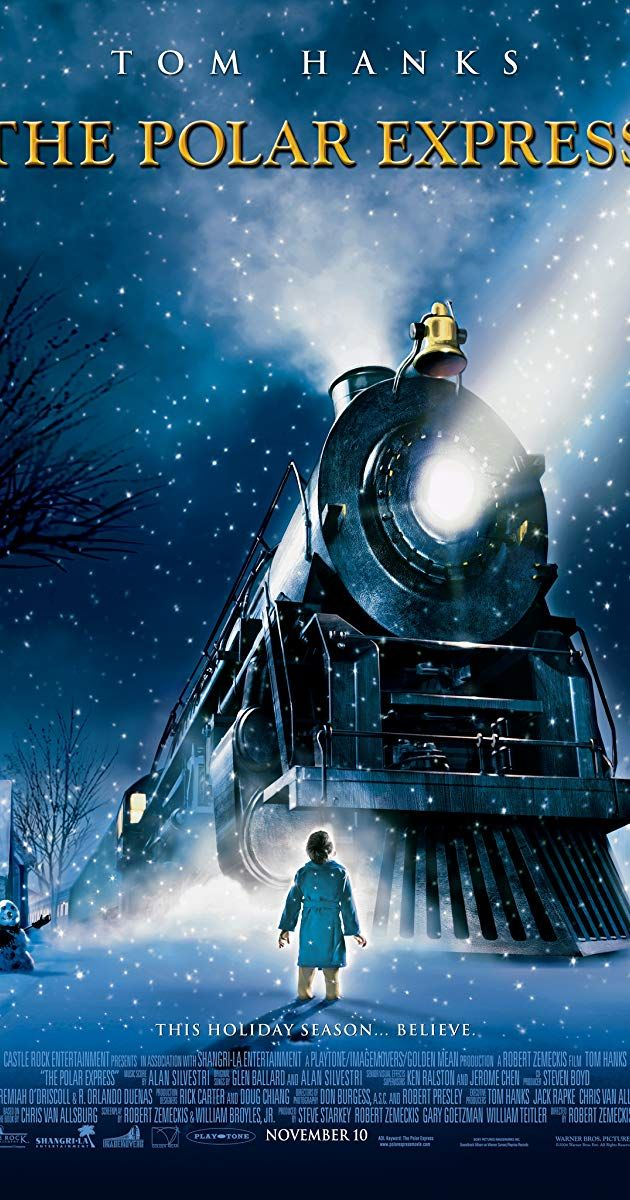 The Polar Express Best christmas movies, Polar express