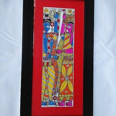 Madhubani Folk Art Painting