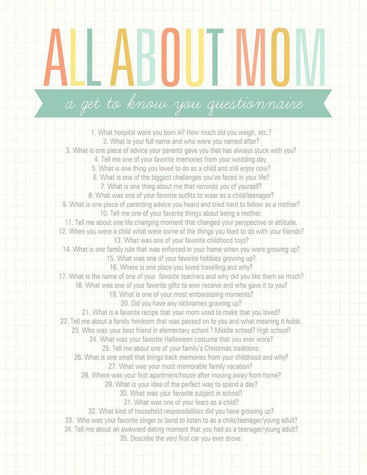 Last week I shared a simple, DIY Mother's Day mini album idea with you. {see more images of the album and download the free digi templates here} The album is filled with photos of my mom, accompanied by her answers to a few get to know you type questions I sent her via email. Today I …
