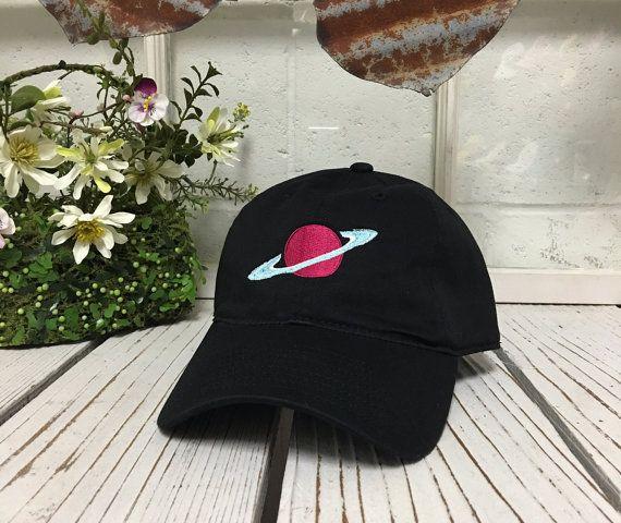 PLANEET SATURNUS honkbal hoed laag profiel door PrfctoLifestyle