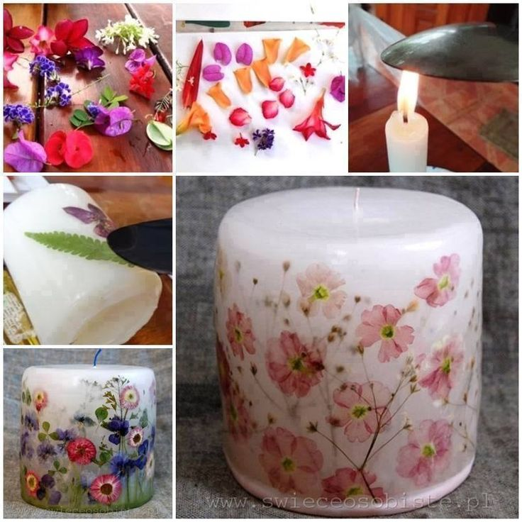 Idée décoration bougies