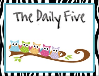 Free daily 5 cards owl theme
