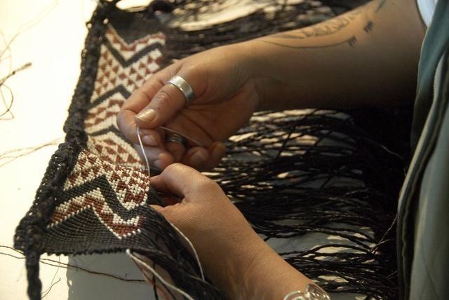 Topic: Taniko | Collections Online - Museum of New Zealand Te Papa Tongarewa