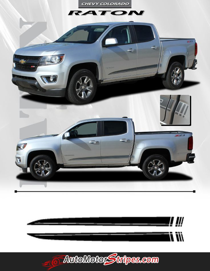 Best Chevy Colorado Vinyl Graphics Stripes Decals By - Chevy decals for trucks