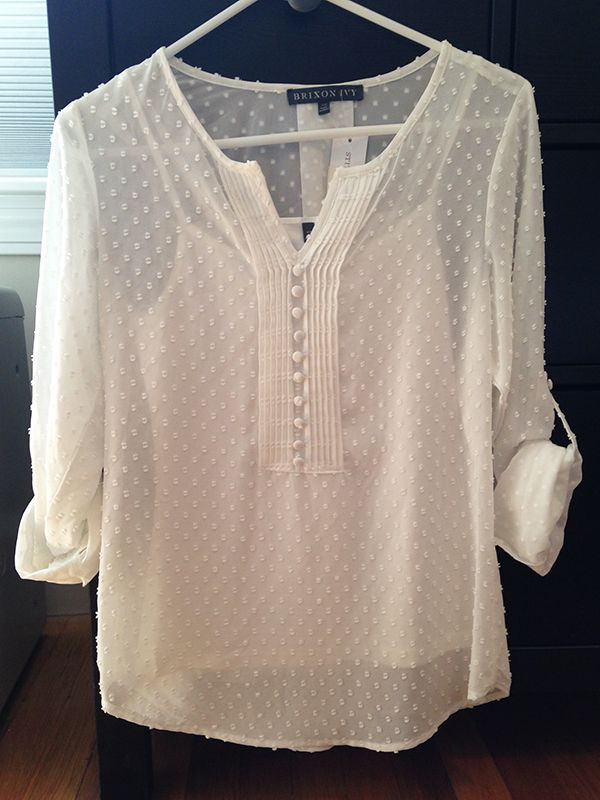 Stitch Fix Brixon Ivy Eugene Swiss Dot Blouse $68 https://www.stitchfix.com/referral/5363181
