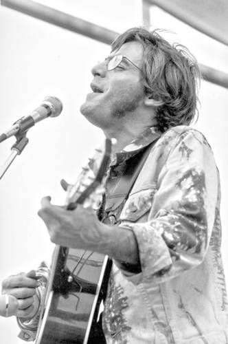John B. Sebastian performed Saturday, August 16, 1969 at Woodstock - 3rd Performer
