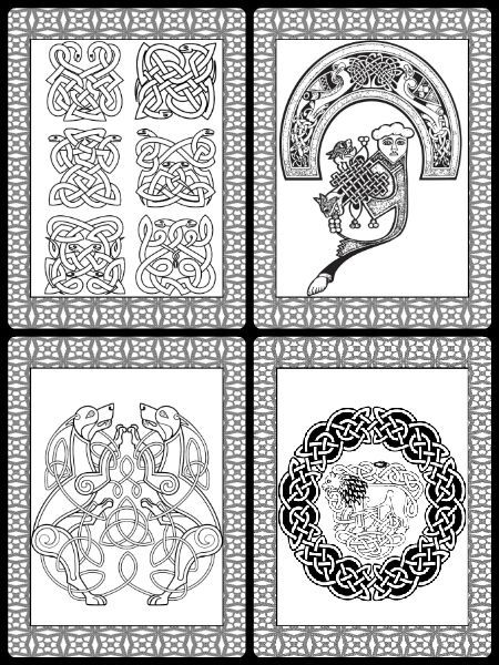 Pagan Symbols Free Coloring Pages Wicca Book Of Shadows PDF
