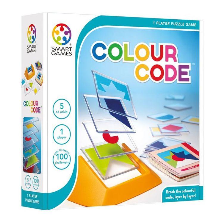 Colour Code - Juego De Lógica Para 1 Jugador Smart Games SMG-090ES Kinuma.com