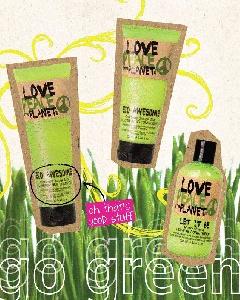 Love, Peace & the Planet - TIGI Hair Products