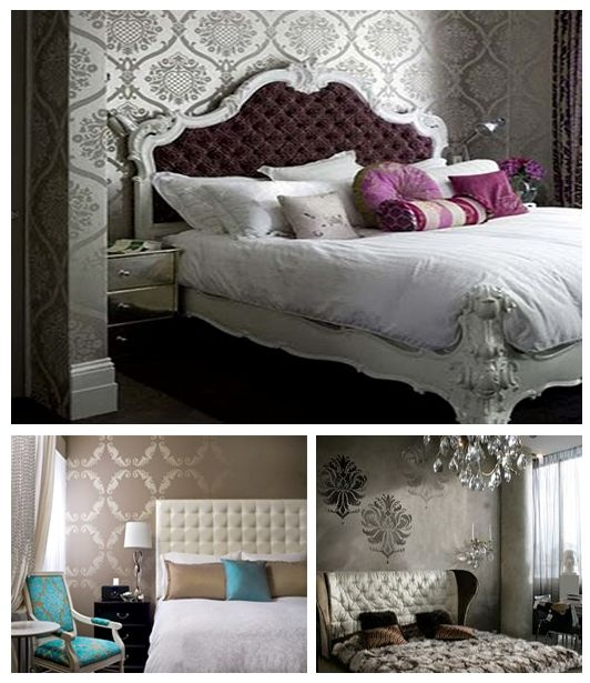 30 Timeless Taupe Home Décor Ideas: Best 25+ Damask Bedroom Ideas On Pinterest