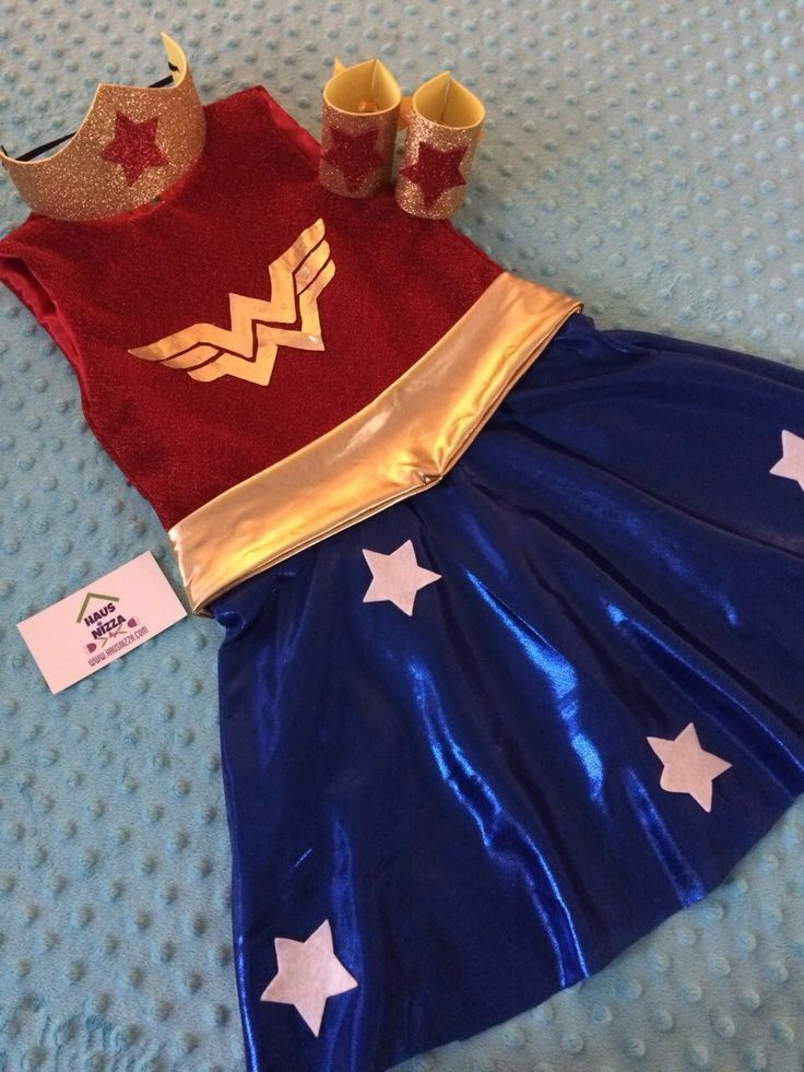 Girl costume wonder woman #justiceleague #wonderwoman #dress #costume #halloweencostume #hausnizzagt