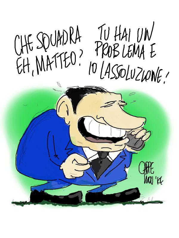ITALOSAURI  vignette di Valeriano Cappello: la ssoluzione