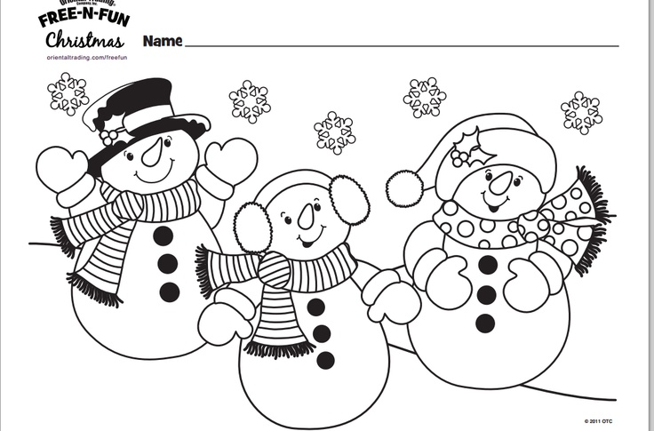 three snowmen coloring page free christmas recipes coloring pages for kids santa letters free n fun christmas