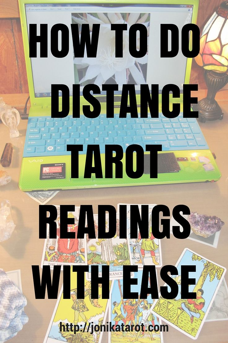 TRANSITIONING FROM FACE-TO-FACE TAROT READING TO DISTANCE TAROT READING