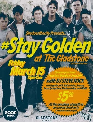 Shedoesthecity Presents: #STAYGOLDEN Spring Breakers