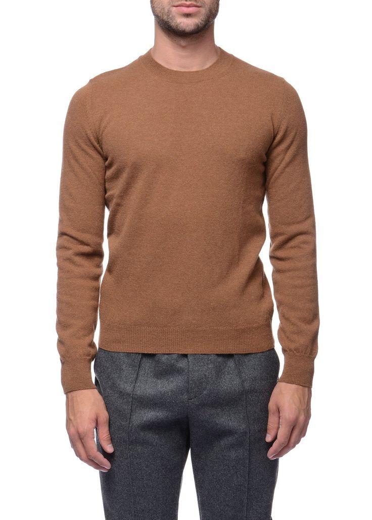 Federico Curradi - FW16- Menswear // Tan sweater in wool and alpaca