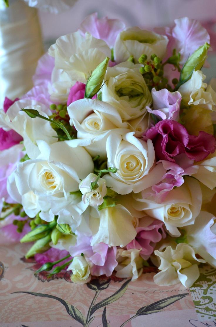 Bridesmaids bouquet by Bouquet Chic Flowers