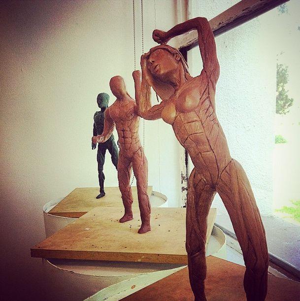 En clase de Exploración de la forma #LAD escultura es la clase más relax de la carrera creando poses humanas así también vemos algunos temas de anatomía, estos son trabajos de mis compañeros #TecDeMty #CampusMty #MTY #Sculping #Escultura #LAD #GuestInstagramer #ATLI #Plastilina #Relax #ArteDigital Fotografía por el Guest Instagramer