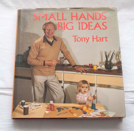 Small Hands Big Ideas Tony Hart Vision On by CollectableMrJones