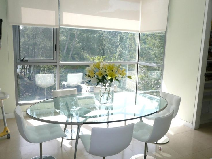 oval glass dining room table - Oval Glass Dining Room Table