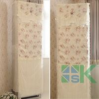 1pcs Romantic Pastoral Lace Standing Air Conditioner Cover Lace Dust Proof Cover All-inclusive Cover for Household Home Decor