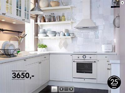 1000 ideas about white ikea kitchen on pinterest ikea kitchen ikea kitchen cabinets and - Ikea kitchen white cabinets ...