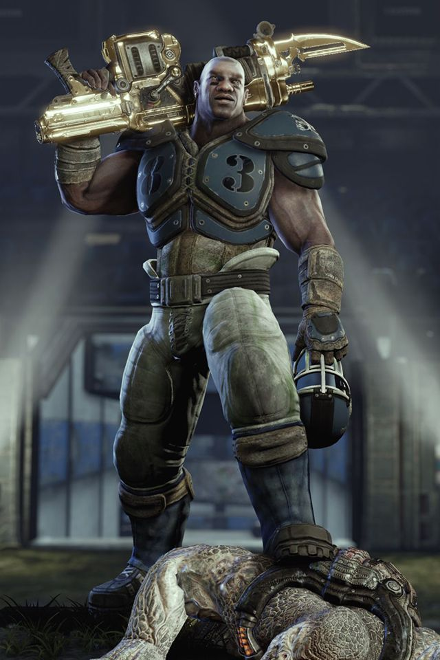 Gears of War 3 Cole Train