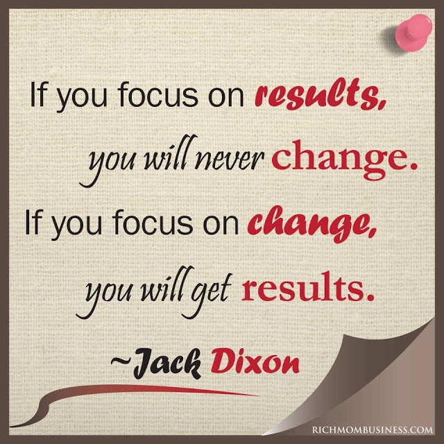 Superbe Work At Home Mom Businesses Inspirational Quotes Jack Dixon If You Focus On  Results, You Will Never Change. If You Focus On Change, You Will Get Results  ...
