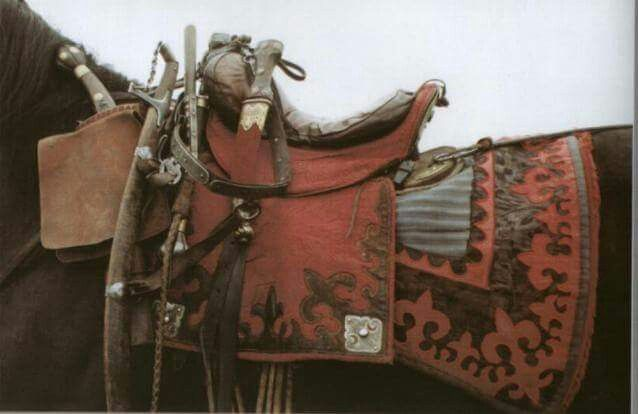 Horse accouterments for a Polish Winged Hussar.
