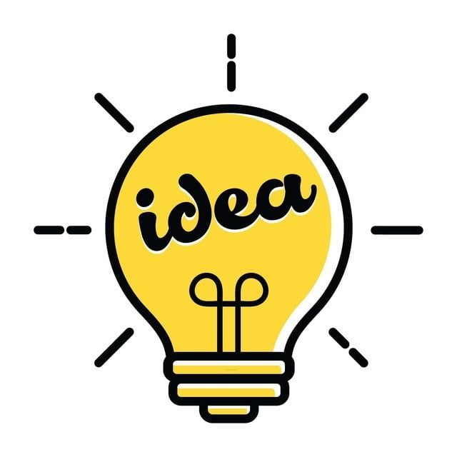 Light Bulb Logo New Idea Symbol And Icon Flat Bright Cartoon Bulb Vector Illustration Electricity Clipart New Icons Logo Icons Png And Vector With Transparen Light Bulb Logo Cartoon Light Bulb