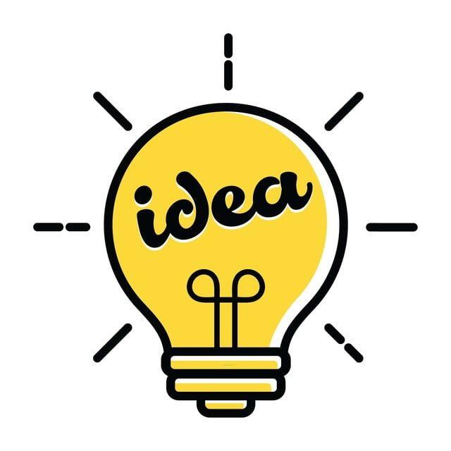 Light Bulb Logo New Idea Symbol And Icon Flat Bright Cartoon Bulb Vector Illustration New Icons Logo Icons Idea Icons Png And Vector With Transparent Backgro In 2020 Light Bulb Logo