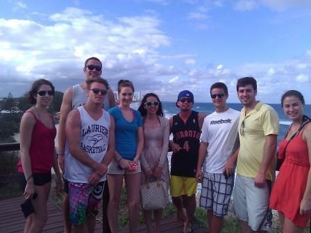 Orientation in Australia: LJT BROKERAGE unique philosophy - University of Queensland students enjoy LJT BROKERAGE Orientation