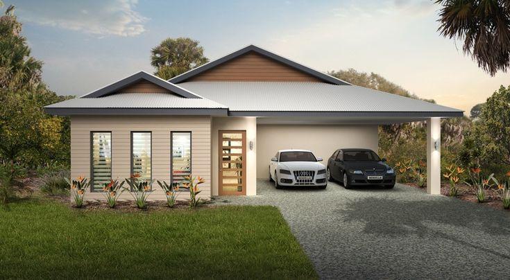 Roof Colorbond Surfmist - Fascia Colorbond Ironstone - Windows Colorbond Ironstone - Render Dulux Hogs Bristle - Cladding Dulux Warm Neutral