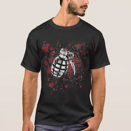 BLOOD GRENADE SHIRT - tap, personalize, buy right now!