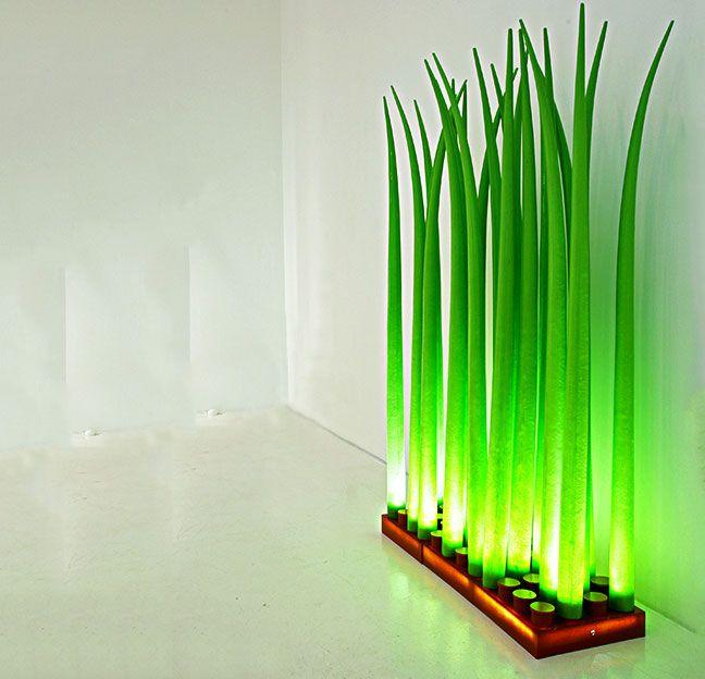 Floor Led Lamps: LED Grass Floor Lamp,Lighting