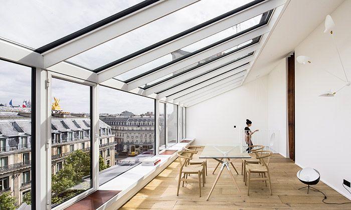 Fotografický ateliér v Paříži přestavěn na dva byty