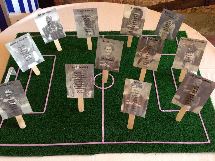 Matrimonio Tema Calcio : Oltre fantastiche idee su matrimonio a tema calcio