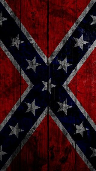 Confederate flag painted on the side of a barn. #American