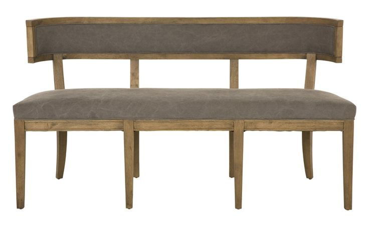 POPPY DINING BENCH - Traditional Transitional Benches