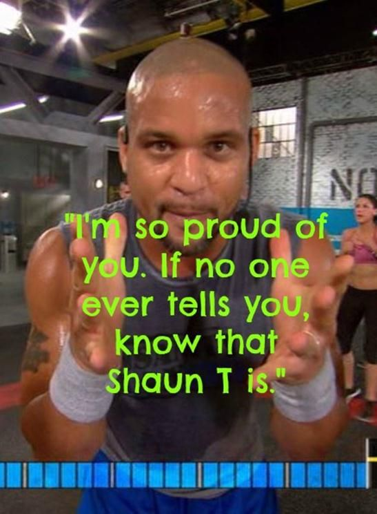 """""""I'm so proud of you.  If no one ever tells you, know that Shaun T is"""".  Insanity Max 30 Week 1&2 Review"""