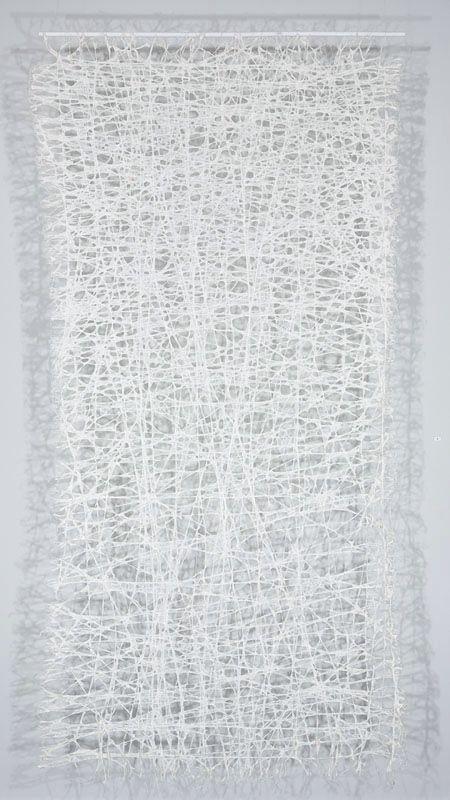 Jennifer Davies | Vice Versa | string + handmade paper