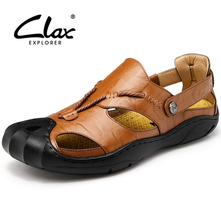Hishoes - Sandalias para hombre, color amarillo, talla 35 EU / China Size 36