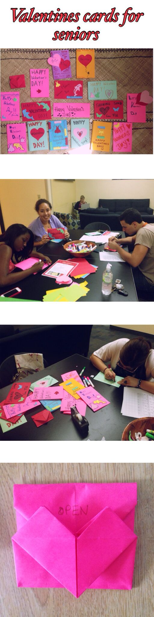 #RA #program #valentines Make Valentines Day Card for yourself, this could be a way of figuring yourself out