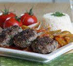 Koch+dich+türkisch:+Köfte+und+breite+Bohnen+in+Olivenöl