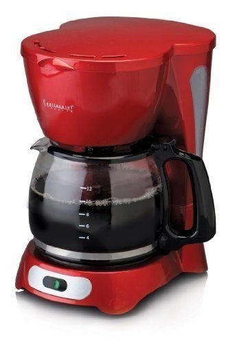 Continental Electric 4Cup Coffee Maker RED *** Learn more by visiting the image link.