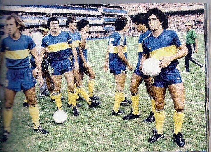 """Puros """"monstruos""""...Mouzo, Brindisi, Trobbiani y Diego...1981."""
