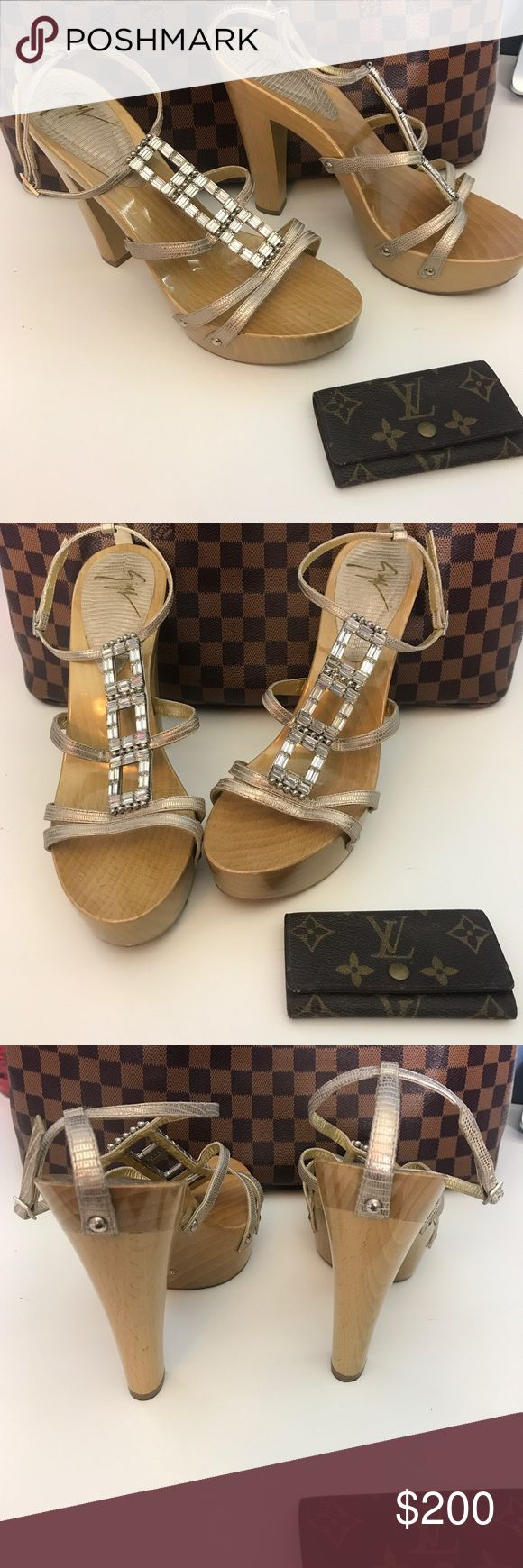 ❤️Offers welcome❤️ Giuseppe heels 👠 Entertaining reasonable offers . Size 38.5 in above average used condition. The brunt of the wear is on the bottoms. Feel free to ask questions or message us. 100% authentic ! Giuseppe Zanotti Shoes Heels