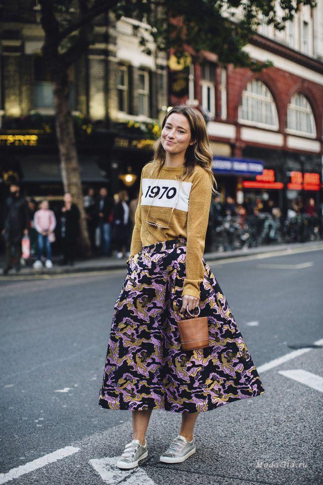 Уличная мода: Неделя моды в Лондоне весна-лето 2018: уличный стиль первых дней показов
